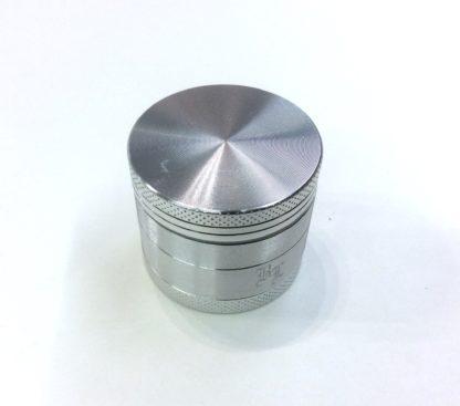 black leaf grinder silver