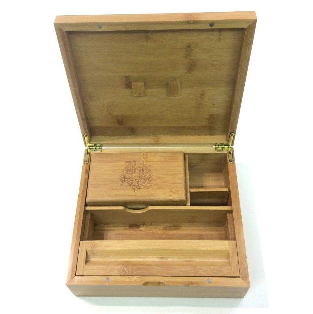 boite bambou ouverte