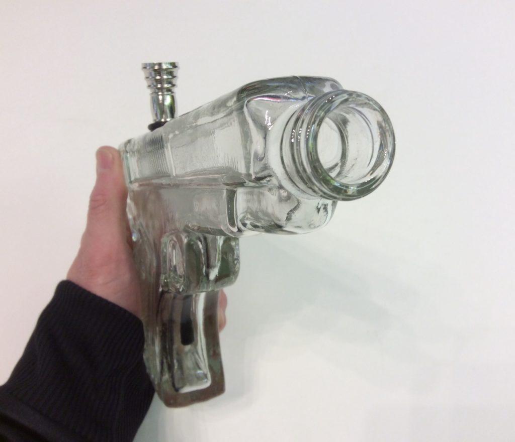 pipe a eau pistolet