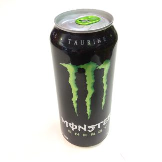 canette monster energy drink