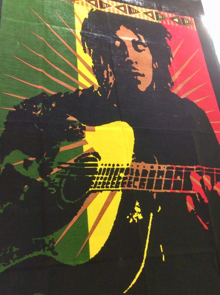detail tenture bob guitare
