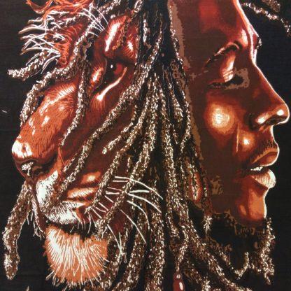 tenture bob et lion of judha