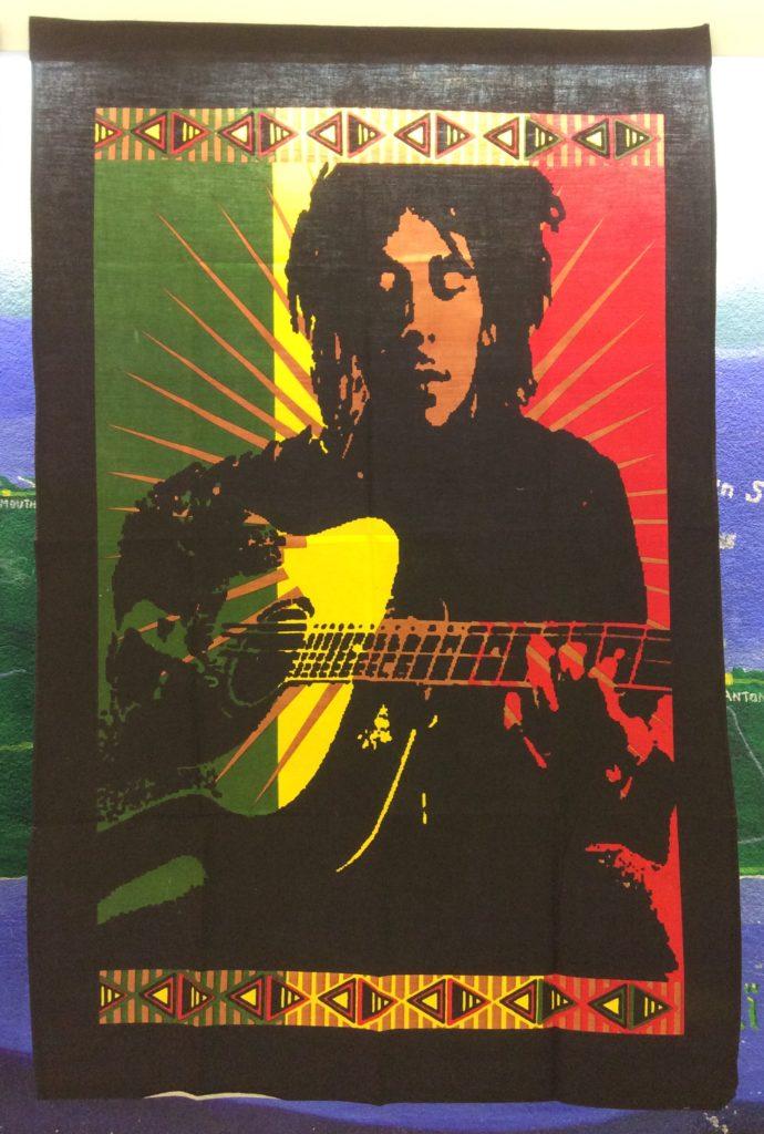 tenture bob guitare