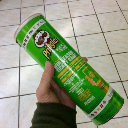 pringles cachettes vert