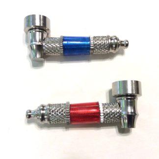 Pipes métal et acrylique