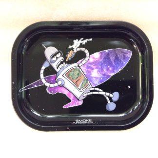 Plateau à rouler Space Bender Futurama