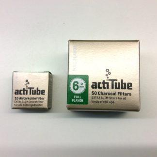filtre a charbon actif actitube 6mm