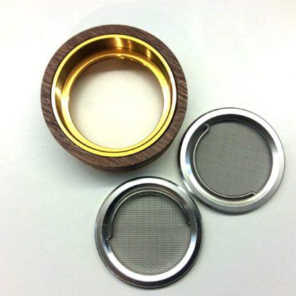 grilles interchangeable grinder bois metal