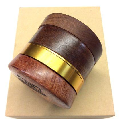 grinder black leaf bois metal