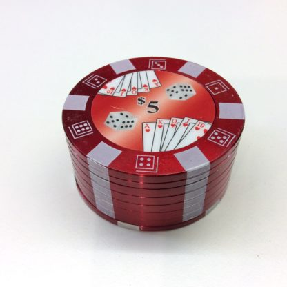grinder jeton casino rouge