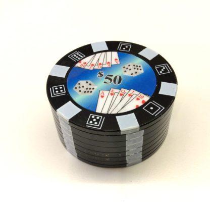 grinder poker noir