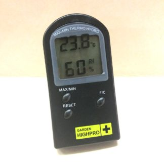 thermometre hygrometre garden highpro